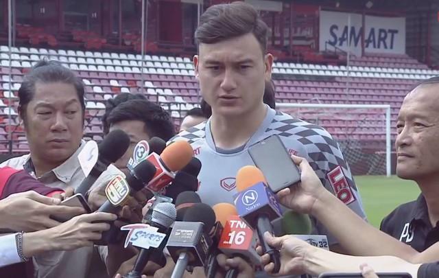 Thủ môn Đặng Văn Lâm: Tôi đủ kinh nghiệm và sự tự tin để thi đấu ở Thái League - Ảnh 3.