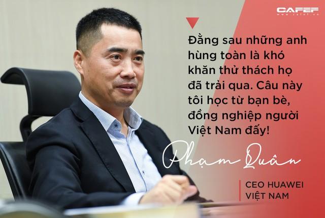 CEO Huawei Việt Nam: Khi về già, niềm tự hào không phải là có bao nhiêu tiền mà là có bao nhiêu ký ức đẹp! - Ảnh 2.