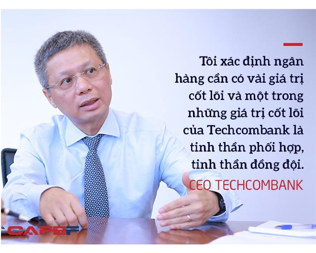 Ceo Techcombank: Trồng cây ăn quả phải mất 3-10 năm, thành quả của chúng tôi hôm nay đã được chuẩn bị từ 3-4 năm trước - Ảnh 8.