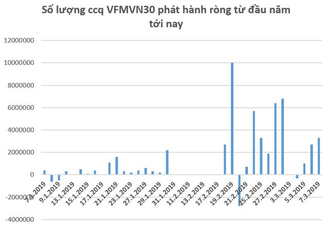 Hàng trăm tỷ đồng tiếp tục đổ vào thị trường Việt Nam thông qua các quỹ ETF trong những ngày đầu tháng 3 - Ảnh 2.