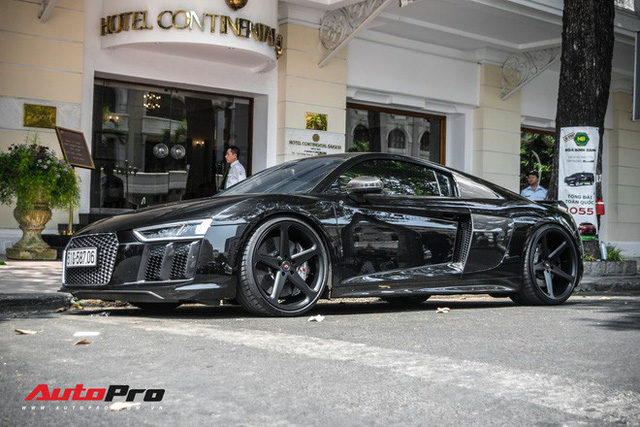 Cường Đô La đổi màu Audi R8 V10 Plus, tuy nhiên đây mới là điểm đáng chú ý - Ảnh 12.