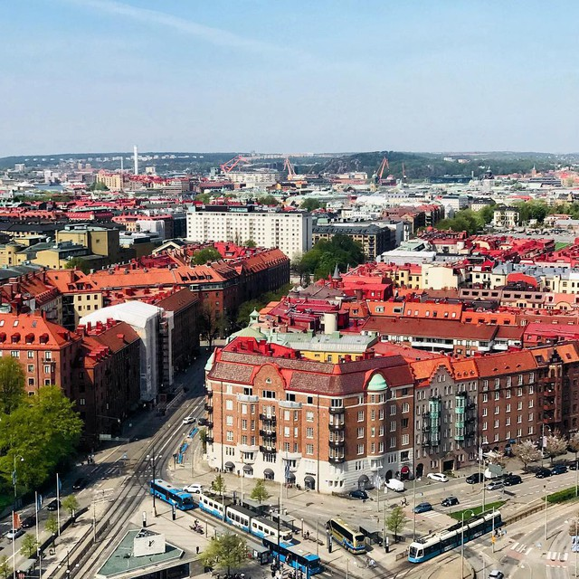 Tròn mắt với loạt kiến trúc độc đáo ở Gothenburg - Thuỵ Điển: Góc nào cũng bình yên và đẹp tuyệt! - Ảnh 9.