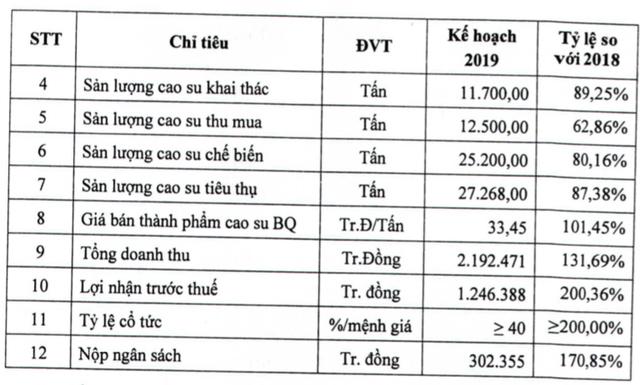 Công ty mẹ Cao su Phước Hòa (PHR) đặt kế hoạch 1.246 tỷ đồng LNTT, gấp đôi cùng kỳ - Ảnh 2.