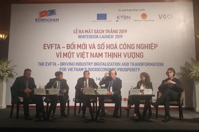 Chủ tịch EuroCham: Đang đẩy nhanh quá trình phê chuẩn EVFTA - Ảnh 1.