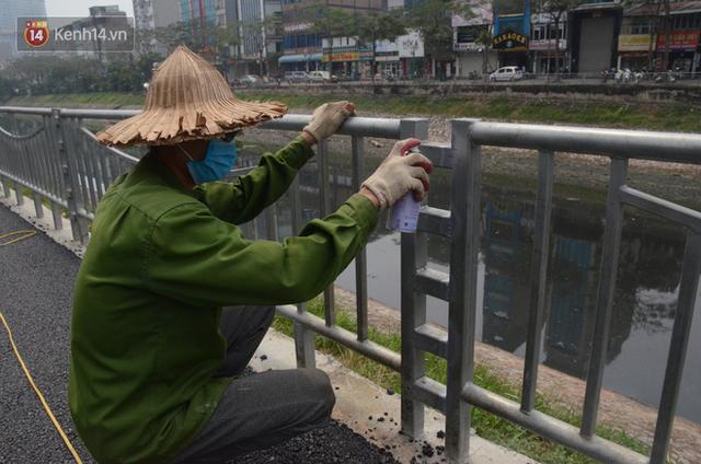 Hà Nội: Cận cảnh tuyến đường dài 4km cạnh sông Tô Lịch chỉ dành cho người đi bộ và xe đạp - Ảnh 5.