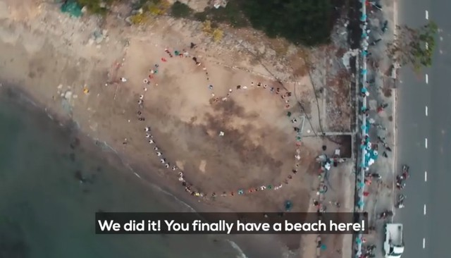 Clip về sự thay đổi của bãi biển Nha Trang nhờ nhóm bạn ngoại quốc khiến cộng đồng trầm trồ: Nơi ngập rác thành sân bóng cho trẻ em - Ảnh 10.