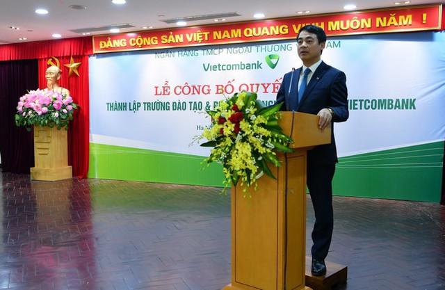 Sau BIDV và VietinBank, đến lượt Vietcombank thành lập Trường Đào tạo và Phát triển nguồn nhân lực - Ảnh 2.