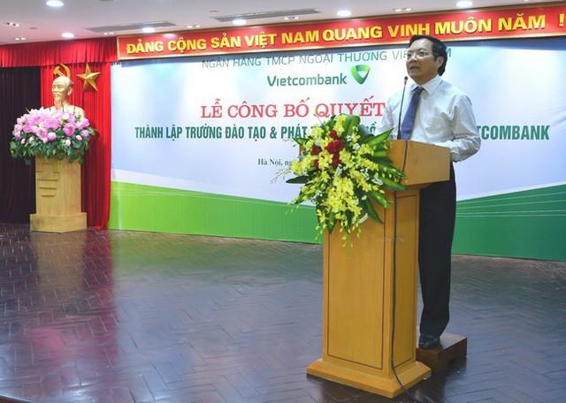 Sau BIDV và VietinBank, đến lượt Vietcombank thành lập Trường Đào tạo và Phát triển nguồn nhân lực - Ảnh 3.
