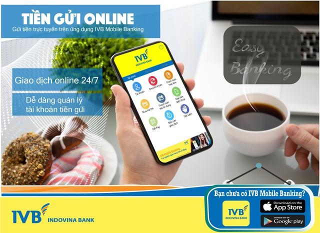 Gửi tiền online trong 1 nốt nhạc với IVB mobile Banking - Ảnh 1.