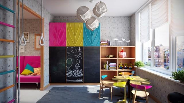 Cách kiến trúc phòng ngủ tươi sáng và ngập tràn sắc màu cho trẻ - Ảnh 2.