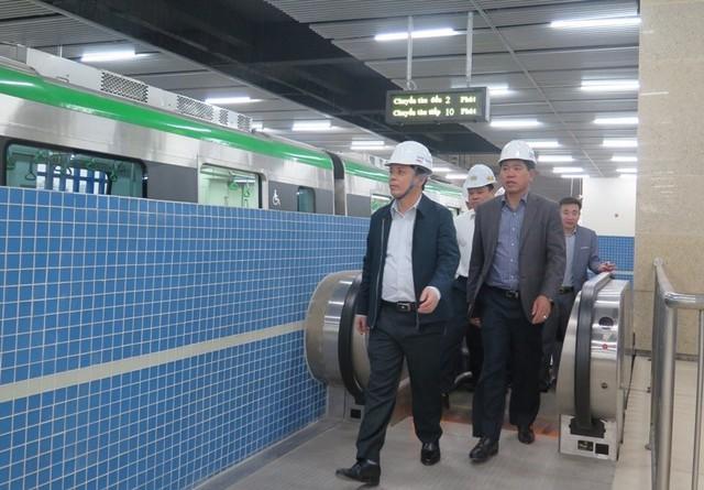 Bộ trưởng GTVT: Người dân rất mong chờ tuyến Cát Linh-Hà Đông sớm khai thác  - Ảnh 1.