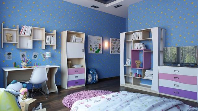 Cách kiến trúc phòng ngủ tươi sáng và ngập tràn sắc màu cho trẻ - Ảnh 6.