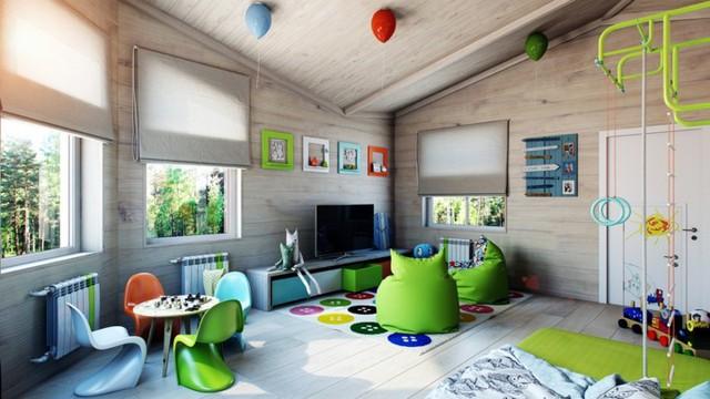 Cách kiến trúc phòng ngủ tươi sáng và ngập tràn sắc màu cho trẻ - Ảnh 8.
