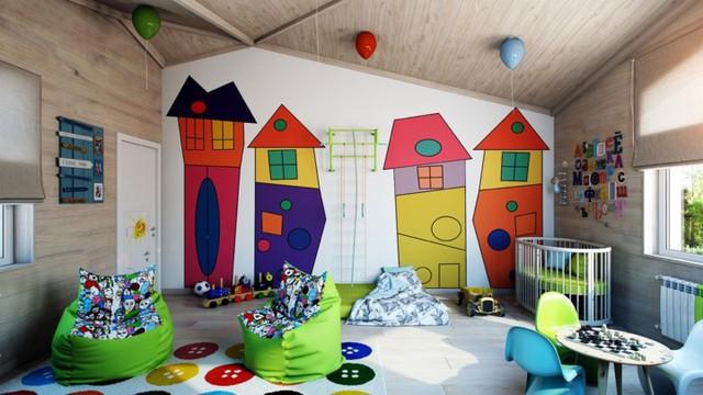 Cách kiến trúc phòng ngủ tươi sáng và ngập tràn sắc màu cho trẻ - Ảnh 9.