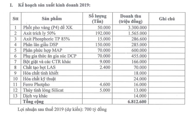 Bột giặt và Hóa chất Đức Giang (DGC) đặt mục tiêu lãi sau thuế 700 tỷ đồng năm 2019, trình phương án đổi tên công ty - Ảnh 2.