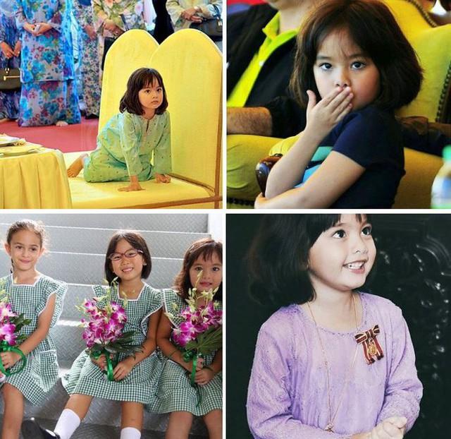 Hé lộ chân dung tiểu công chúa Malaysia đang làm mưa làm gió trên mạng xã hội, không thua kém Charlotte của Hoàng gia Anh - Ảnh 5.