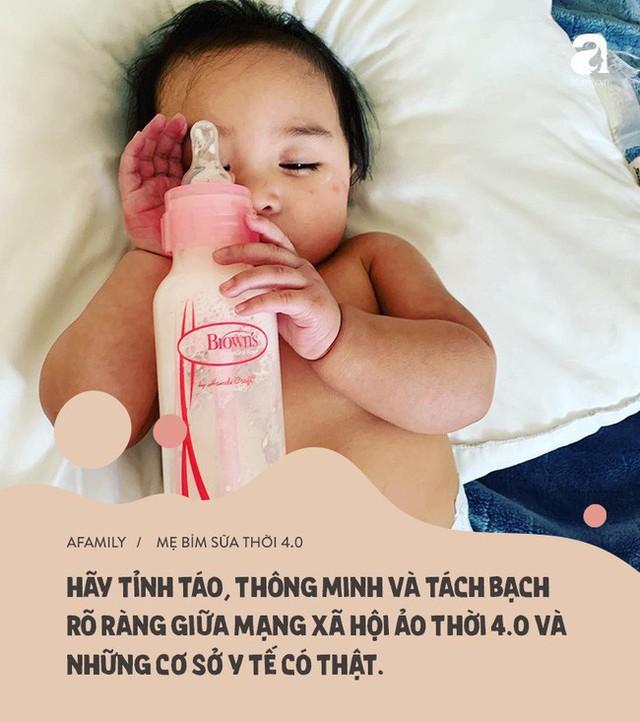 Mặt trái mẹ bỉm sữa thời 4.0: Xem mạng xã hội là bệnh viên nhi khoa, còn hội chị em là chuyên gia y tế - Ảnh 6.