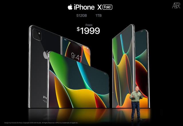 iPhone X màn hình gập trông như thế nào? - Ảnh 5.