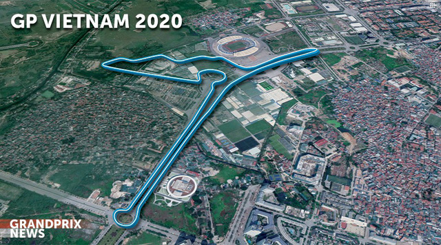 Vingroup bắt đầu làm thi công các con phố đua công thức 1 ở Hà Nội - Ảnh 1.