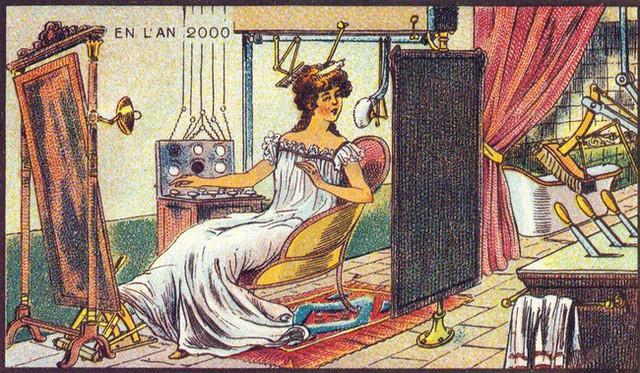 Đây là cách mà con người 100 năm trước tưởng tượng ra thế giới tương lai, có những điều đã trở thành hiện thực - Ảnh 2.