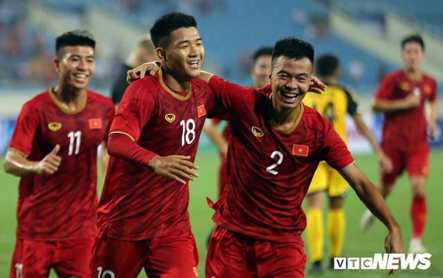 6 cầu thủ khác nhau ghi bàn, U23 Việt Nam vùi dập U23 Brunei - Ảnh 1.