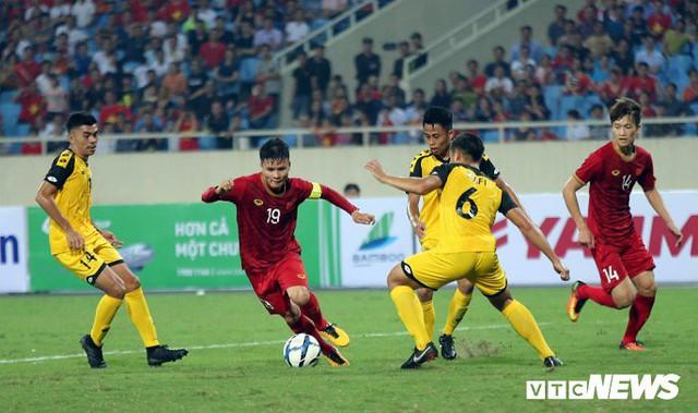 6 cầu thủ khác nhau ghi bàn, U23 Việt Nam vùi dập U23 Brunei - Ảnh 2.
