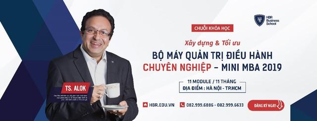 """Tiến sĩ Alok Bharadwaj: """"Các nhà lãnh đạo doanh nghiệp ở Việt Nam rất """"đói khát"""" kiến thức"""" - Ảnh 1."""