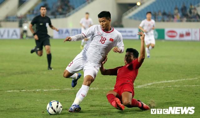 Ghi bàn giây cuối, U23 Việt Nam thắng nghẹt thở U23 Indonesia - Ảnh 1.