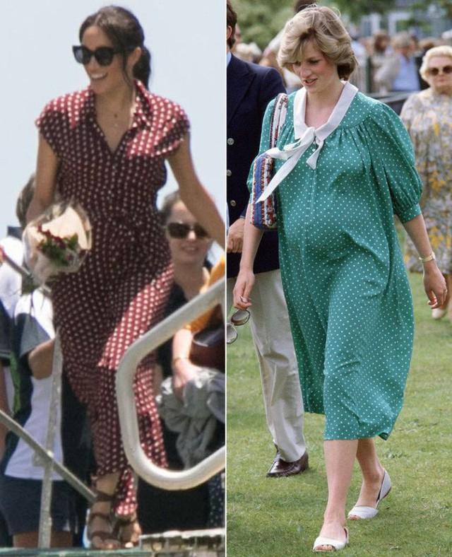 Nhiều lần nhái phong cách mang bầu của Công nương Diana quá cố, Meghan vẫn bị chê tơi tả đến muối mặt vì thiếu sáng tạo và không cùng đẳng cấp - Ảnh 4.