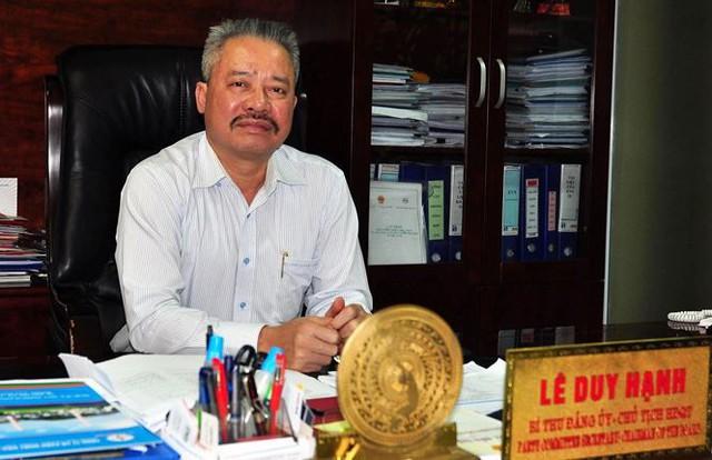 Bắt khẩn cấp Chủ tịch HĐQT Cty CP Nhiệt điện Quảng Ninh - Ảnh 1.