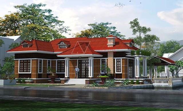 Mê mẩn những mẫu nhà cấp 4 kiểu Ấn Độ đẹp như biệt thự - Ảnh 1.