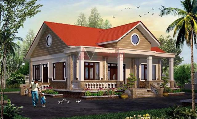 Mê mẩn những mẫu nhà cấp 4 kiểu Ấn Độ đẹp như biệt thự - Ảnh 4.