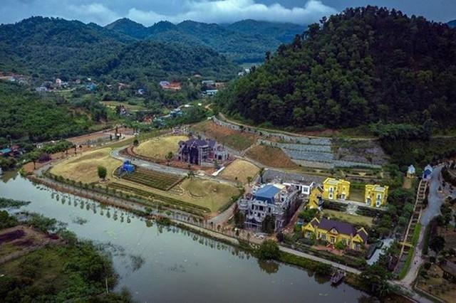 Biệt thự khủng tàn phá rừng Sóc Sơn vẫn bất động sau kết luận thanh tra - Ảnh 1.