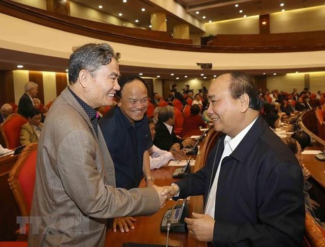 Hình ảnh Ban Bí thư TW Đảng gặp mặt cán bộ lãnh đạo nghỉ hưu - Ảnh 3.