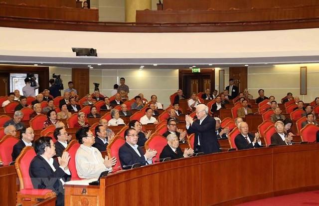 Hình ảnh Ban Bí thư TW Đảng gặp mặt cán bộ lãnh đạo nghỉ hưu - Ảnh 5.