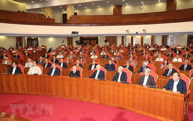Hình ảnh Ban Bí thư TW Đảng gặp mặt cán bộ lãnh đạo nghỉ hưu - Ảnh 8.