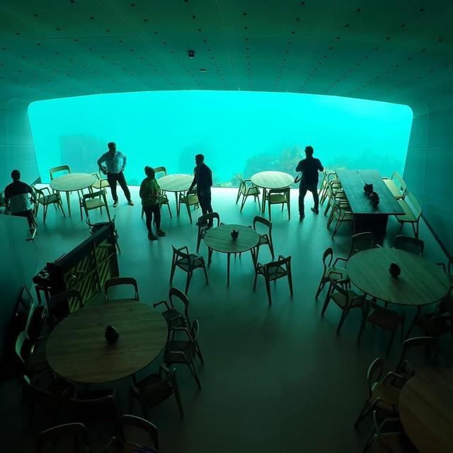 Nhà hàng dưới nước đầu tiên tại châu Âu gây sốt trên toàn thế giới: Đầu tháng 4 mới khai trương nhưng đã kín lịch đặt chỗ đến tận tháng 9 - Ảnh 20.