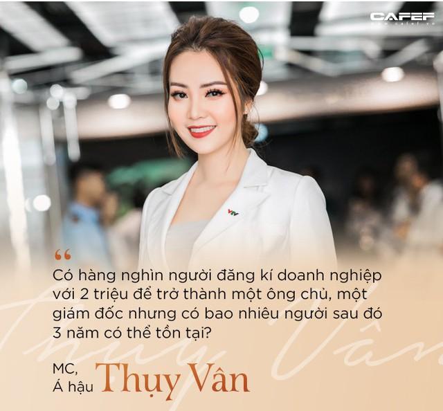 """MC, Á hậu Thụy Vân: Khi tôi khởi nghiệp, ông xã nói đùa """"Kinh doanh kiếm ra tiền còn khó hơn cả đạt giải Nobel"""" - Ảnh 2."""
