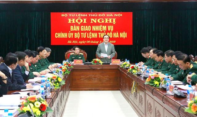 Triển khai quyết định nhân sự của Quân ủy Trung ương, Bộ Quốc phòng - Ảnh 1.