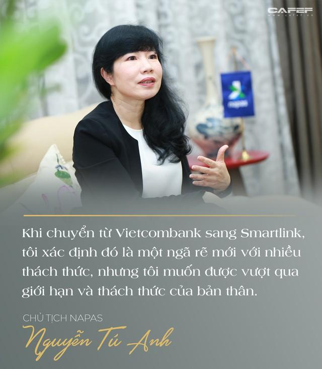 Chủ tịch Napas Nguyễn Tú Anh: Hãy vượt qua giới hạn của bản thân, cứ chân thành và đam mê thì thành công ắt sẽ đến - Ảnh 2.