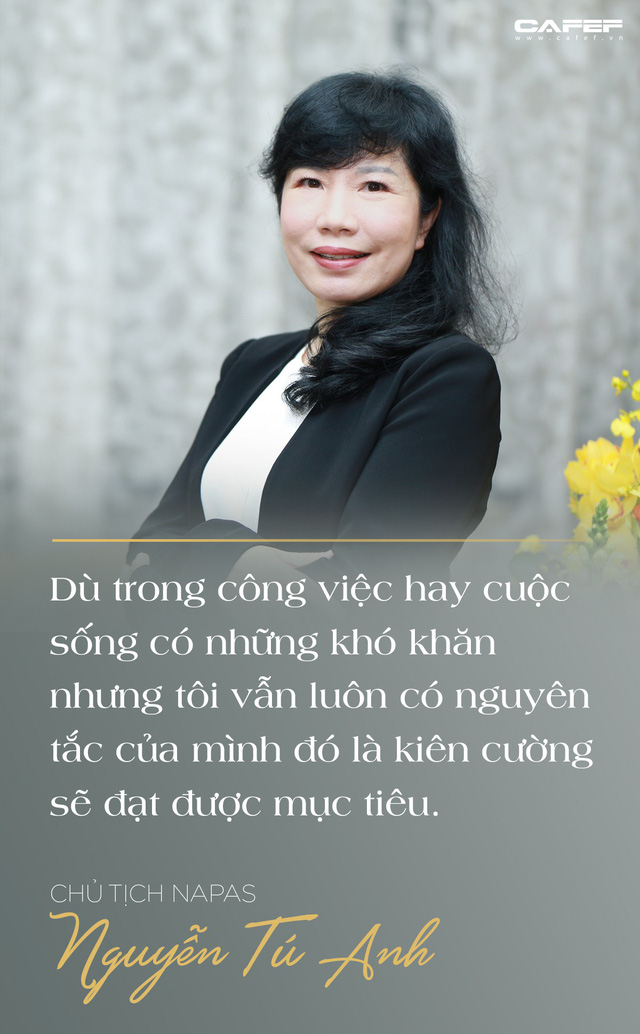 Chủ tịch Napas Nguyễn Tú Anh: Hãy vượt qua giới hạn của bản thân, cứ chân thành và đam mê thì thành công ắt sẽ đến - Ảnh 5.