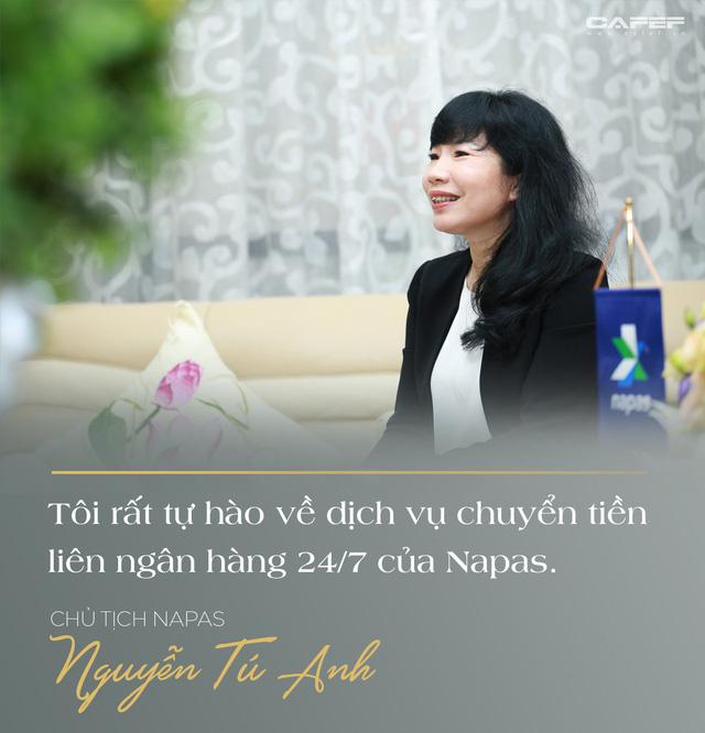 Chủ tịch Napas Nguyễn Tú Anh: Hãy vượt qua giới hạn của bản thân, cứ chân thành và đam mê thì thành công ắt sẽ đến - Ảnh 7.