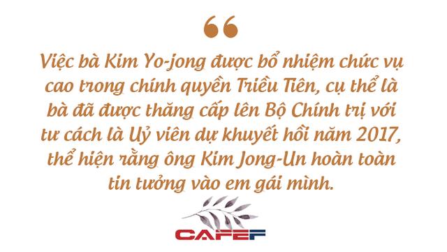 Người phụ nữ bí ẩn luôn theo sát chủ tịch Kim Jong-un: Giản dị, kín tiếng nhưng được tin tưởng hơn bất kỳ ai đứng cạnh nhà lãnh đạo của Triều Tiên - Ảnh 9.