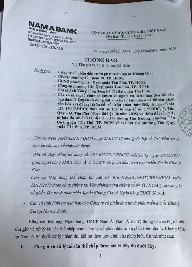 Quyền lợi của người dân chung cư Khang Gia Tân Hương sẽ ra sao khi bị siết nợ? - Ảnh 1.