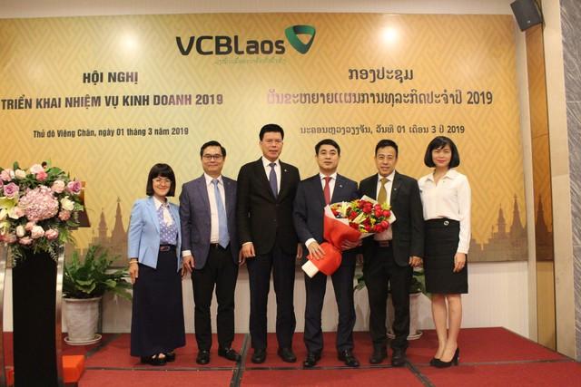 Vietcombank Lào đặt mục tiêu vào top 3 về quy mô và hiệu quả hoạt động tại Lào - Ảnh 2.