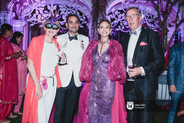 Cặp đôi tỷ phú Ấn Độ lộng lẫy cùng các khách mời đại gia vào đêm tiệc Pink Party đầu tiên ở Phú Quốc - Ảnh 6.