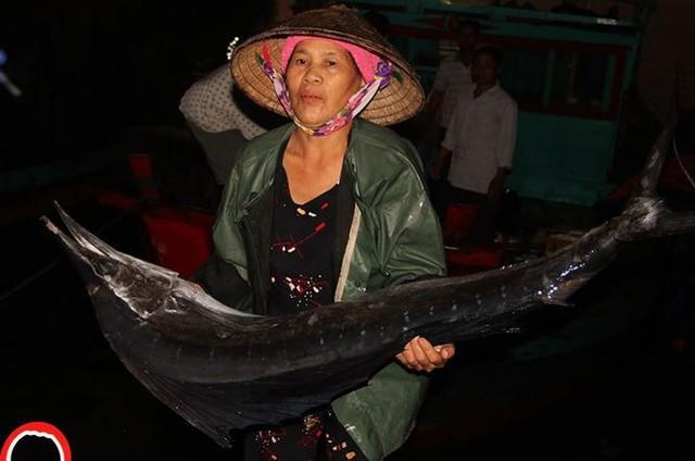 Nhọc nhằn những nữ phu đội cả tấn cá nơi cửa biển - Ảnh 6.