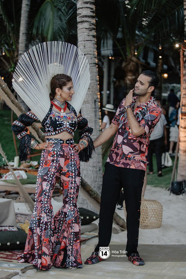"""Ngày thứ 2 tiệc cưới của cặp đôi tỷ phú Ấn Độ tại Phú Quốc: Hàng trăm bàn tiệc ngồi bên bãi biển, khách mời diện đồ """"thổ dân"""" cá tính - Ảnh 14."""