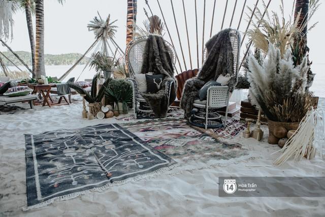 """Ngày thứ 2 tiệc cưới của cặp đôi tỷ phú Ấn Độ tại Phú Quốc: Hàng trăm bàn tiệc ngồi bên bãi biển, khách mời diện đồ """"thổ dân"""" cá tính - Ảnh 3."""