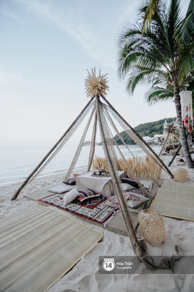 """Ngày thứ 2 tiệc cưới của cặp đôi tỷ phú Ấn Độ tại Phú Quốc: Hàng trăm bàn tiệc ngồi bên bãi biển, khách mời diện đồ """"thổ dân"""" cá tính - Ảnh 5."""
